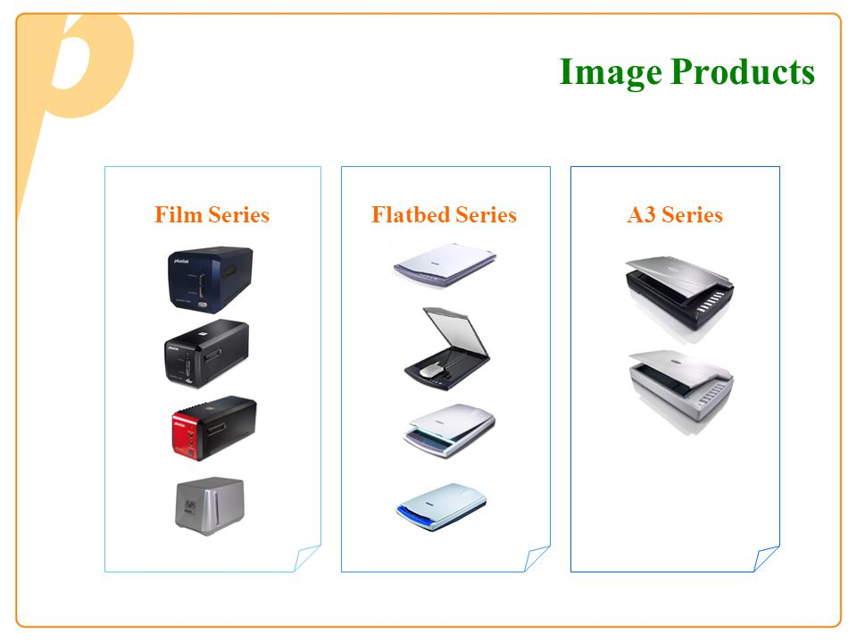 Image Products Film Series Flatbed Series A3 Series