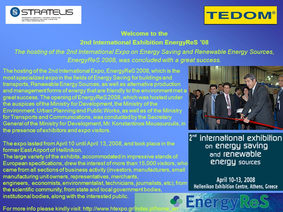 2nd International Exhibition EnergyReS 08