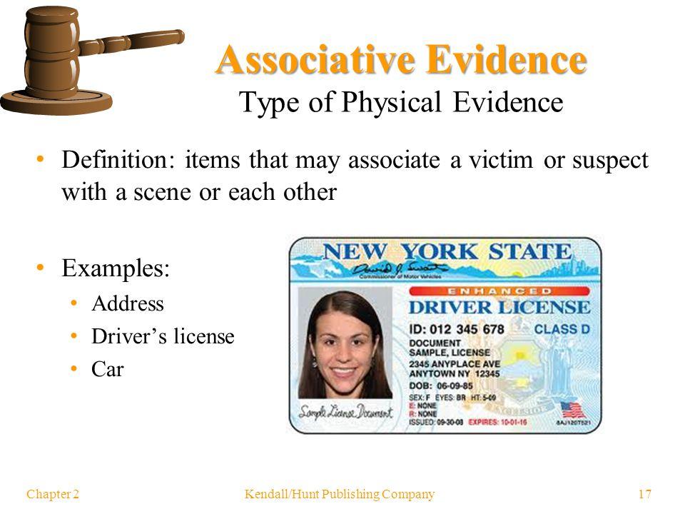 Evidence Characteristics