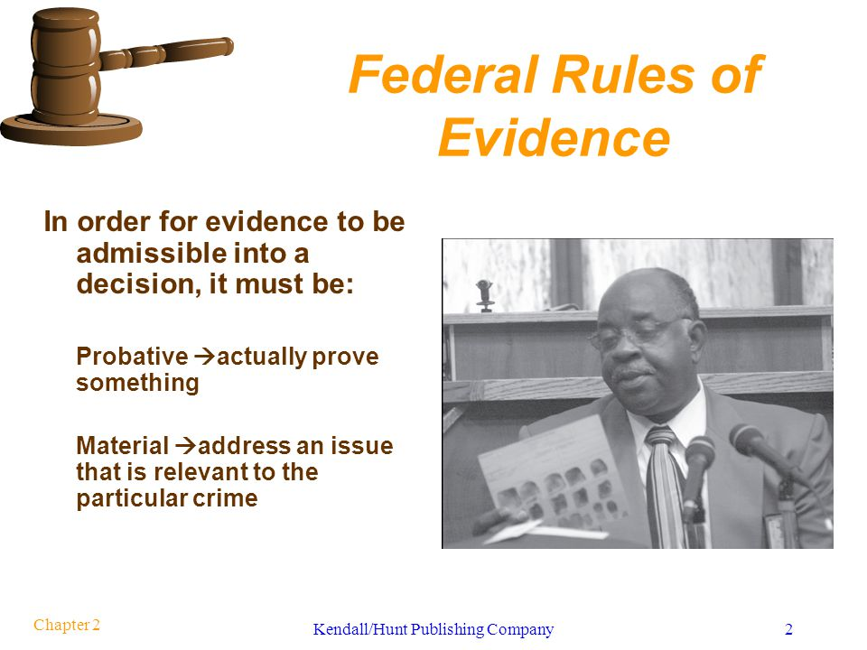 Admissibility of Scientific Evidence
