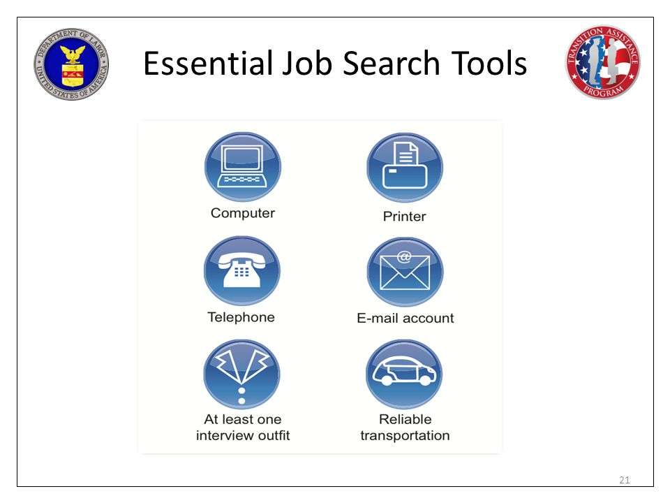 Essential Job Search Tools