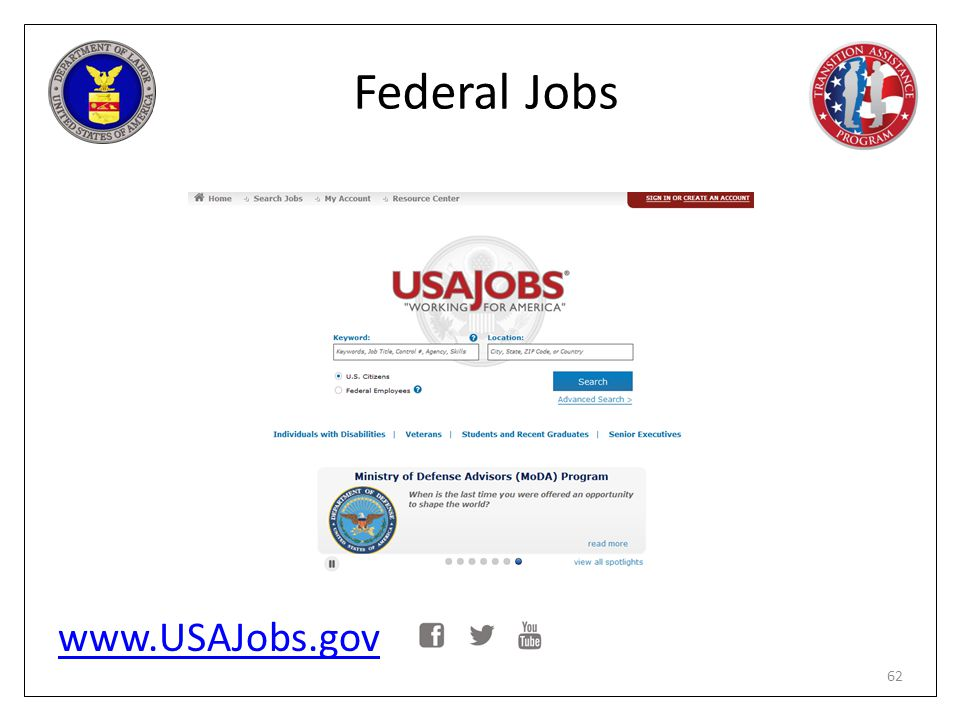 Federal Jobs www.USAJobs.gov PG page 170