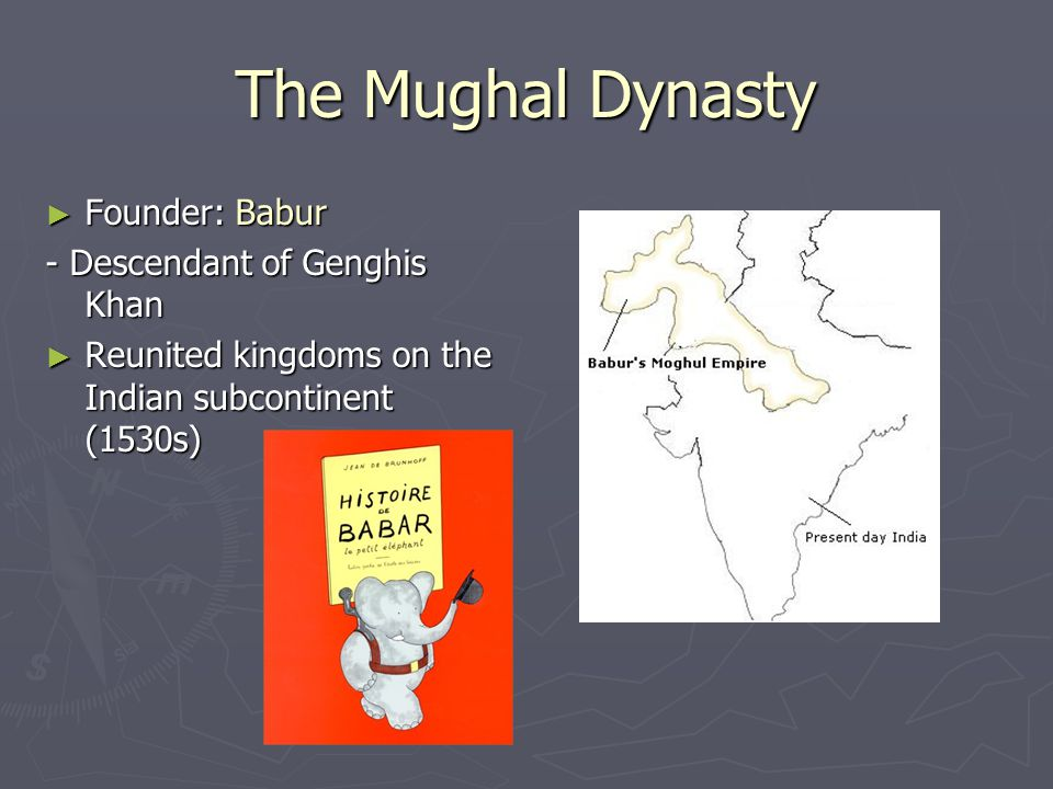 The Mughal Dynasty Founder: Babur - Descendant of Genghis Khan