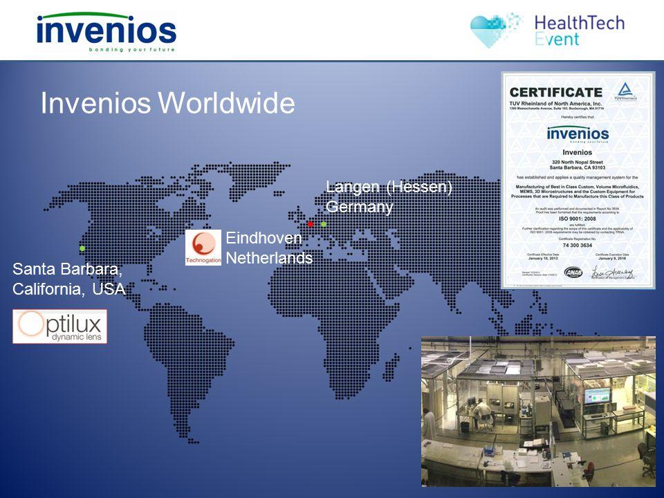 Invenios Worldwide Langen (Hessen) Germany Eindhoven Netherlands