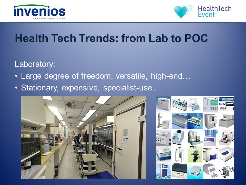 Health Tech Trends: from Lab to POC