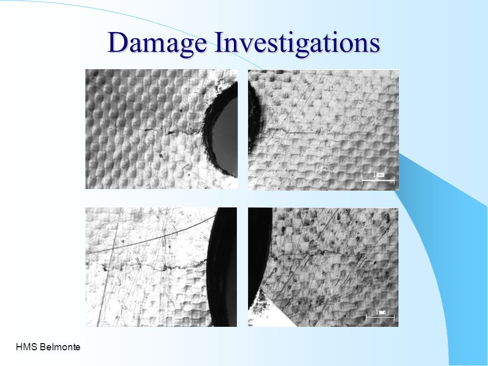 Damage Investigations