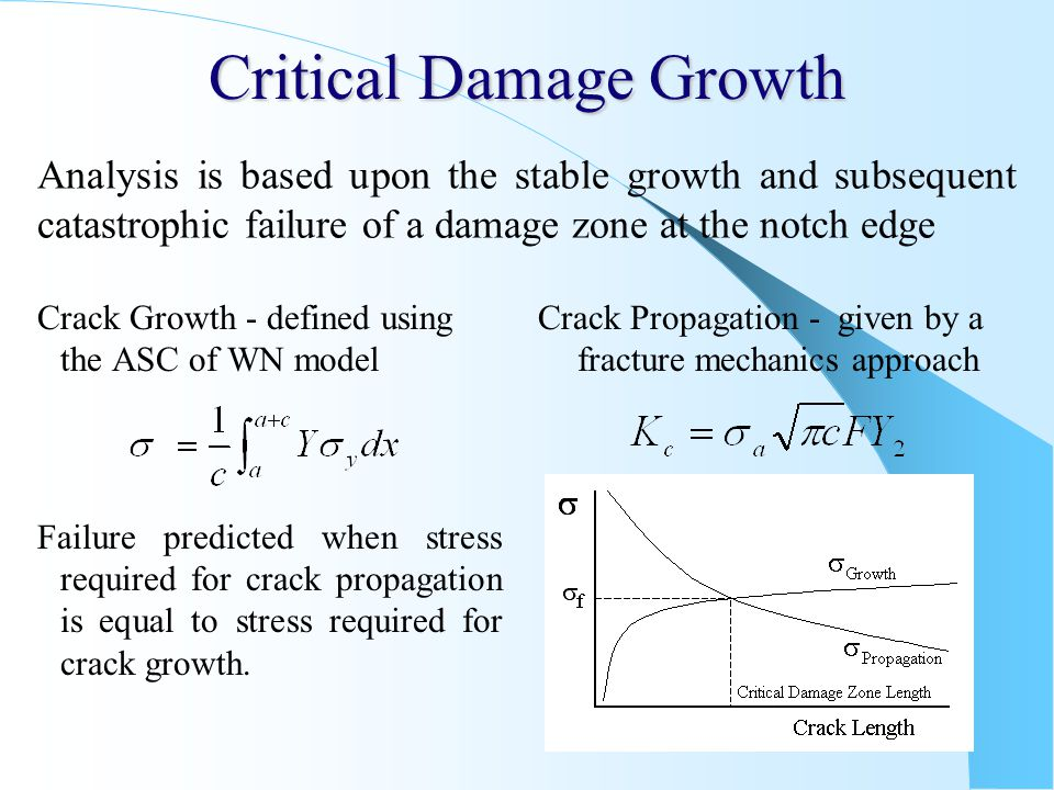 Critical Damage Growth