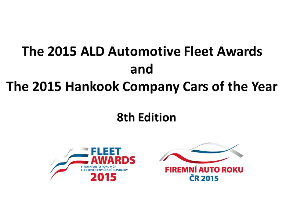 The 2015 ALD Automotive Fleet Awards and The 2015 Hankook Company Cars of the Year