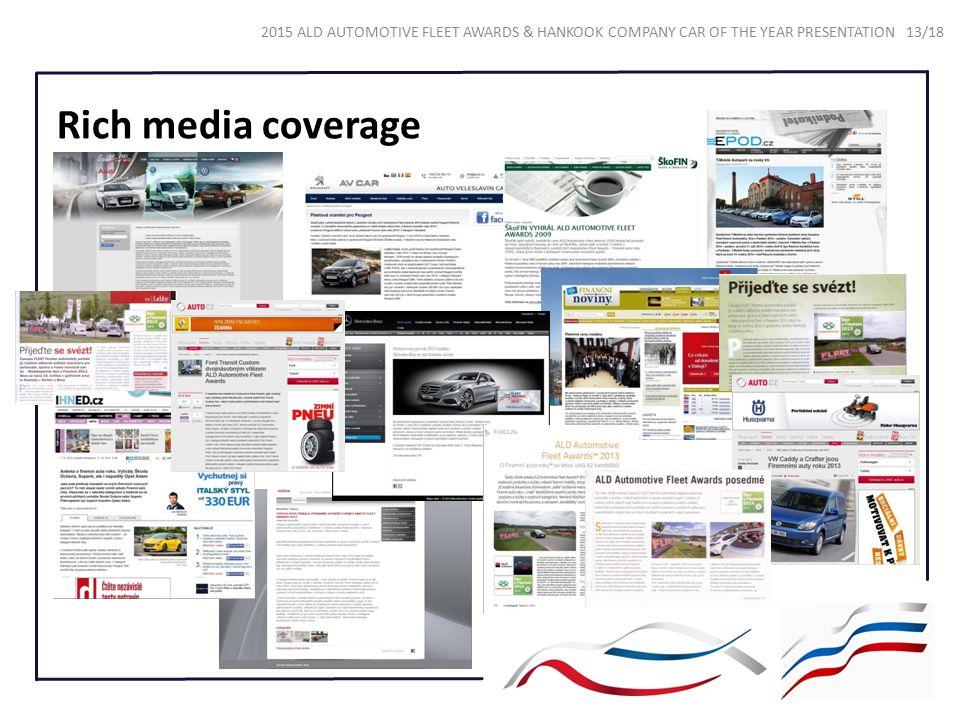 Rich media coverage