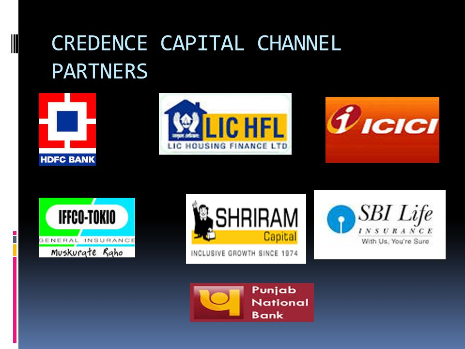 CREDENCE CAPITAL CHANNEL PARTNERS