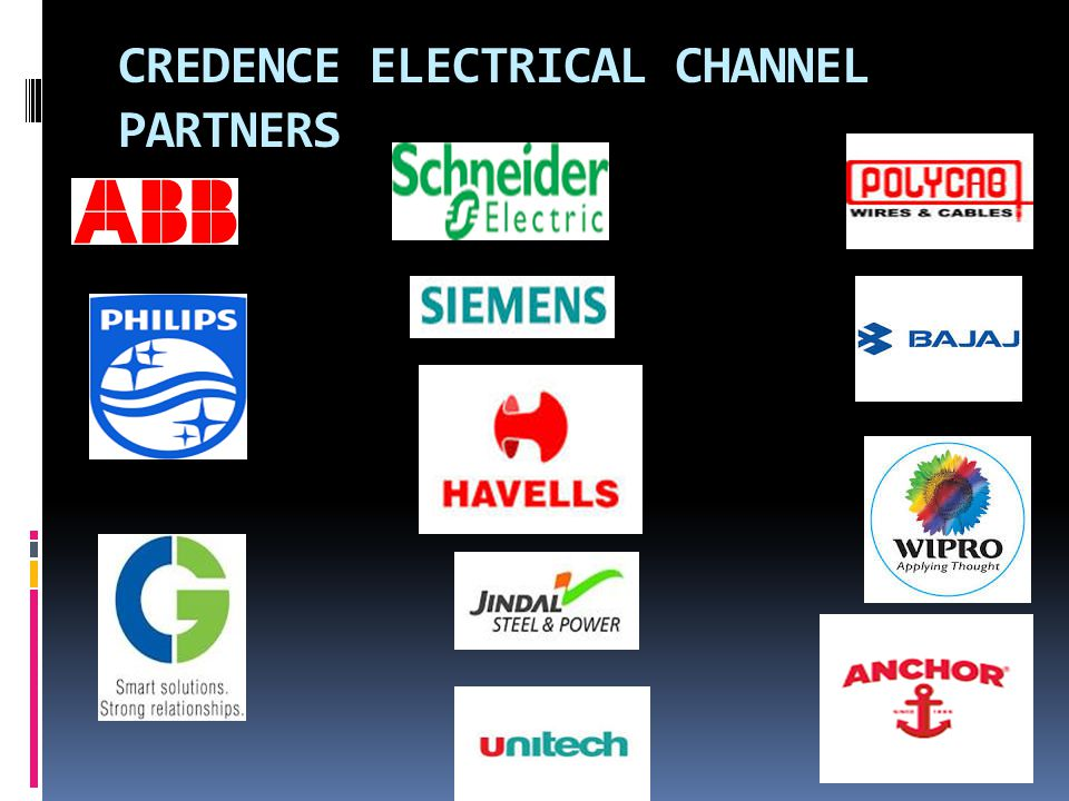 CREDENCE ELECTRICAL CHANNEL PARTNERS