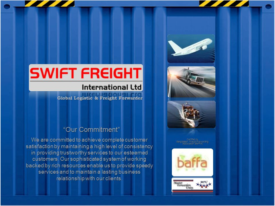 Bangladesh Freight Forwarding Association BAFFA)