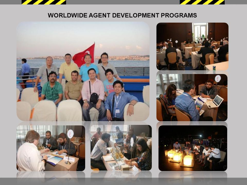 WORLDWIDE AGENT DEVELOPMENT PROGRAMS