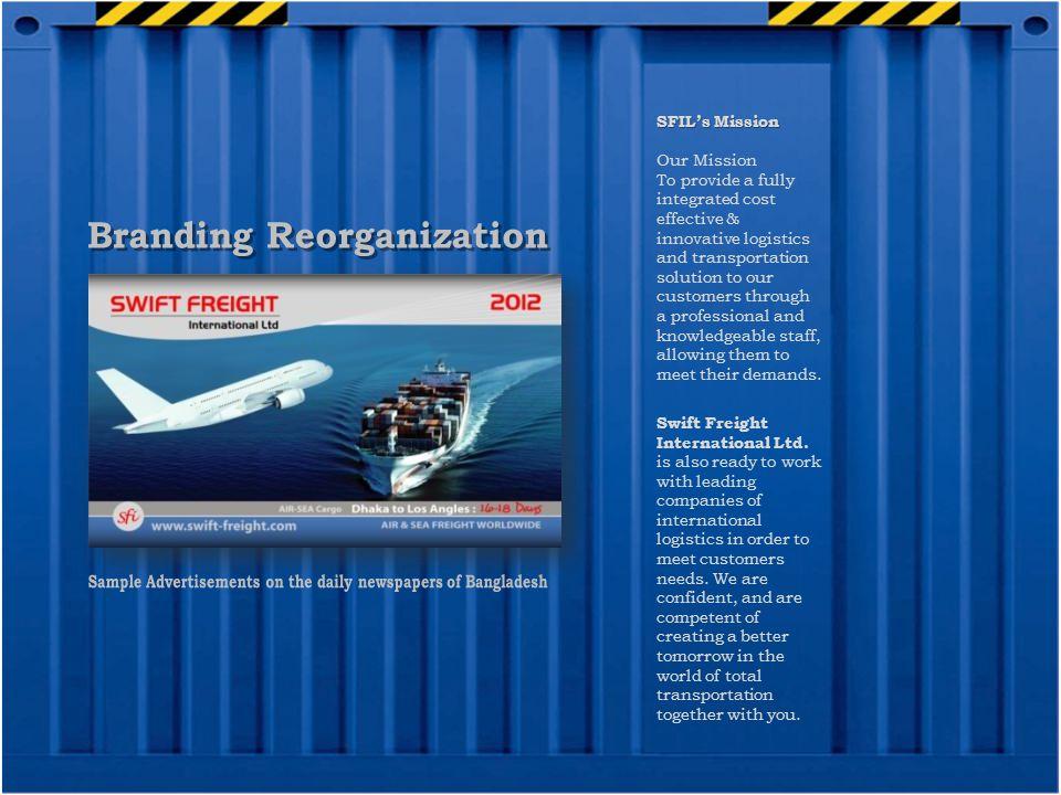 Branding Reorganization