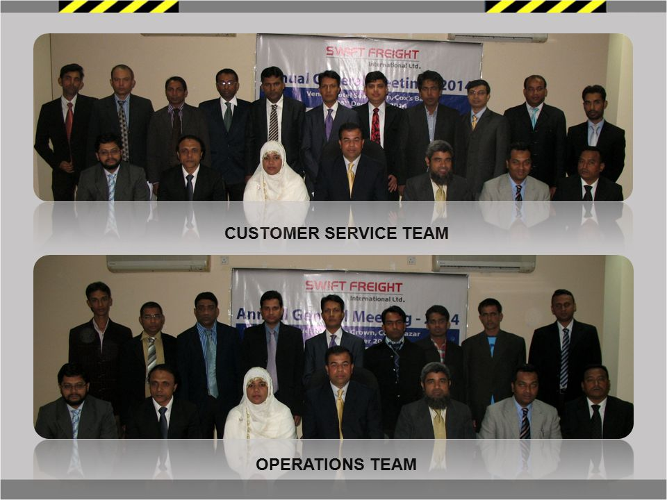 CUSTOMER SERVICE TEAM OPERATIONS TEAM