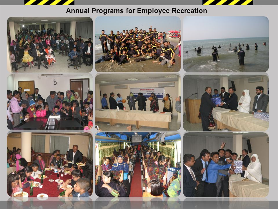 Annual Programs for Employee Recreation