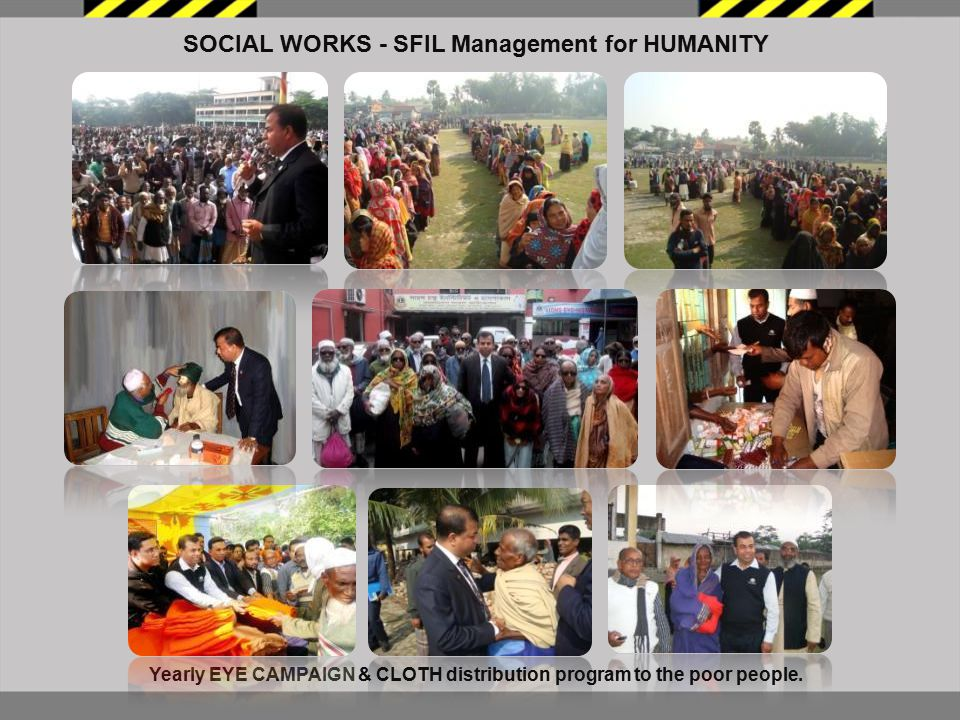 SOCIAL WORKS - SFIL Management for HUMANITY