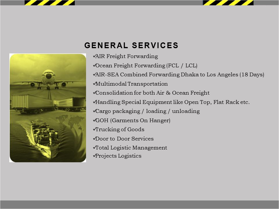 General Services AIR Freight Forwarding