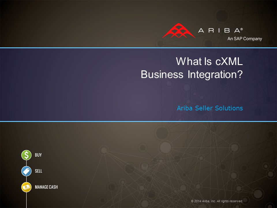 What Is cXML Business Integration