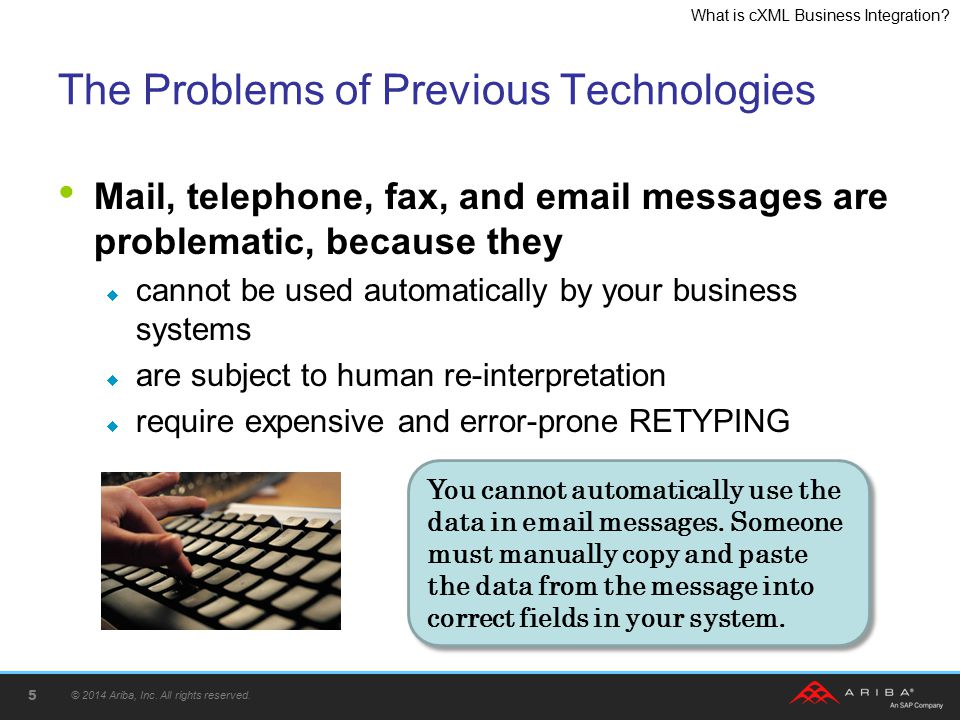 The Problems of Previous Technologies