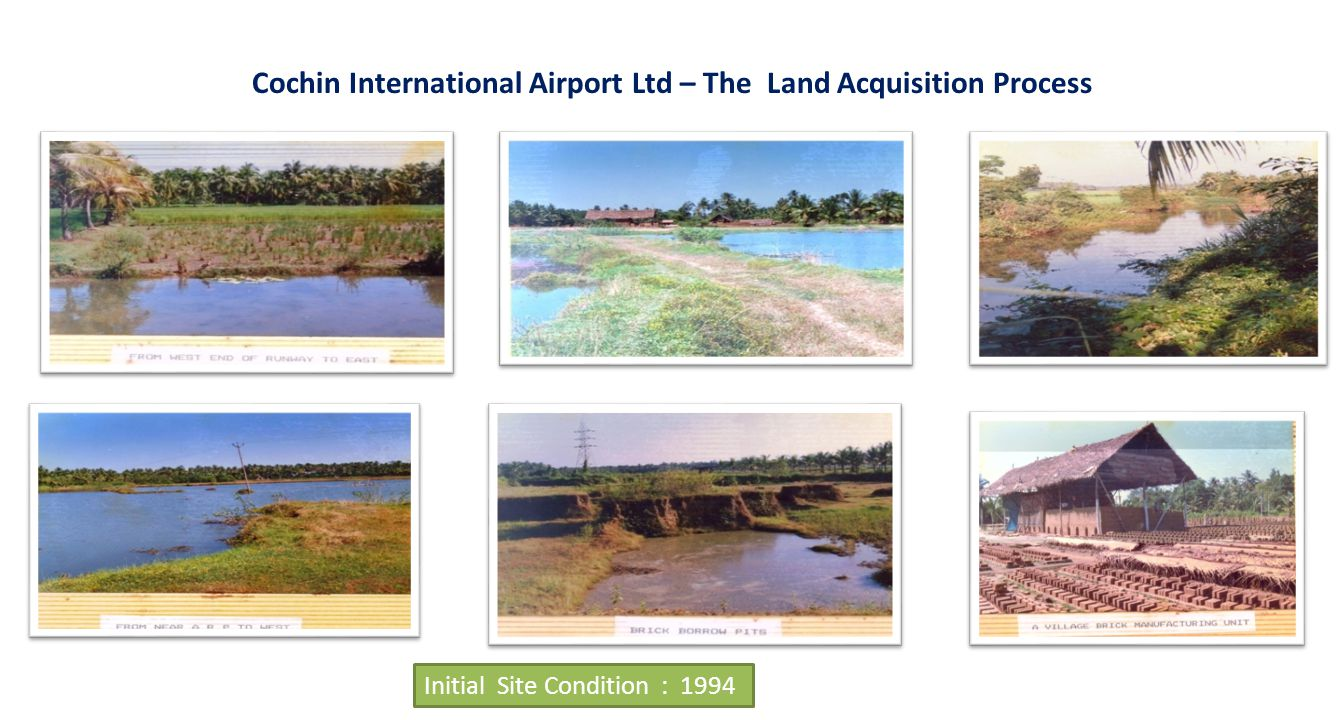Cochin International Airport Ltd – The Land Acquisition Process