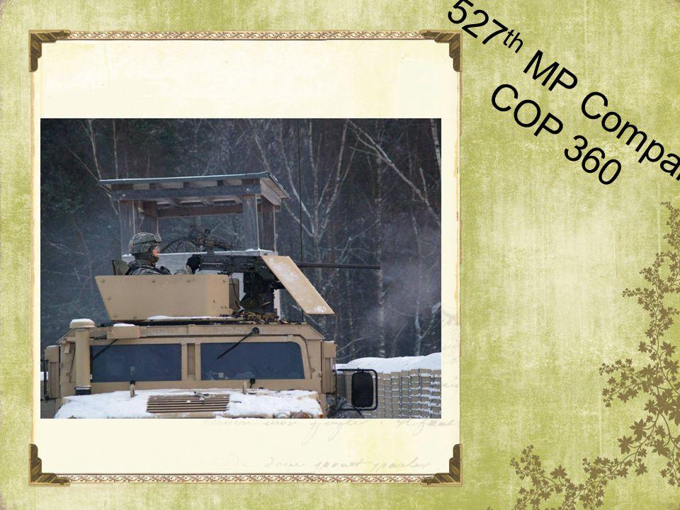 527th MP Company COP 360