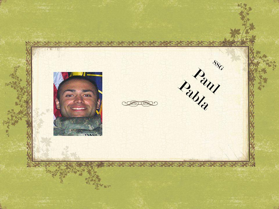 SSG Paul Pabla