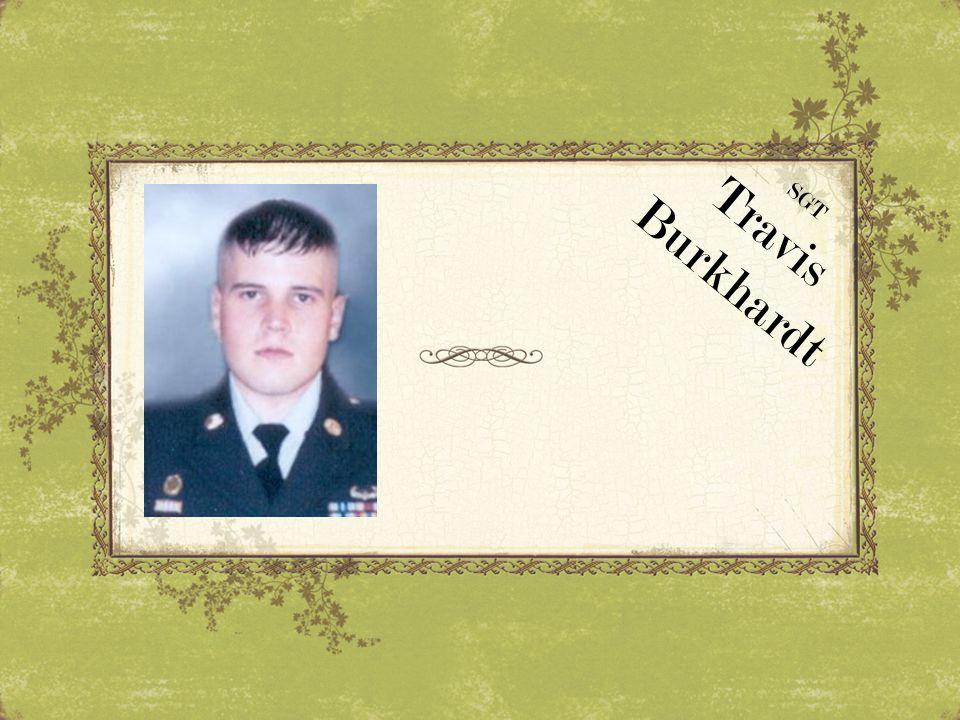 Travis Burkhardt SGT