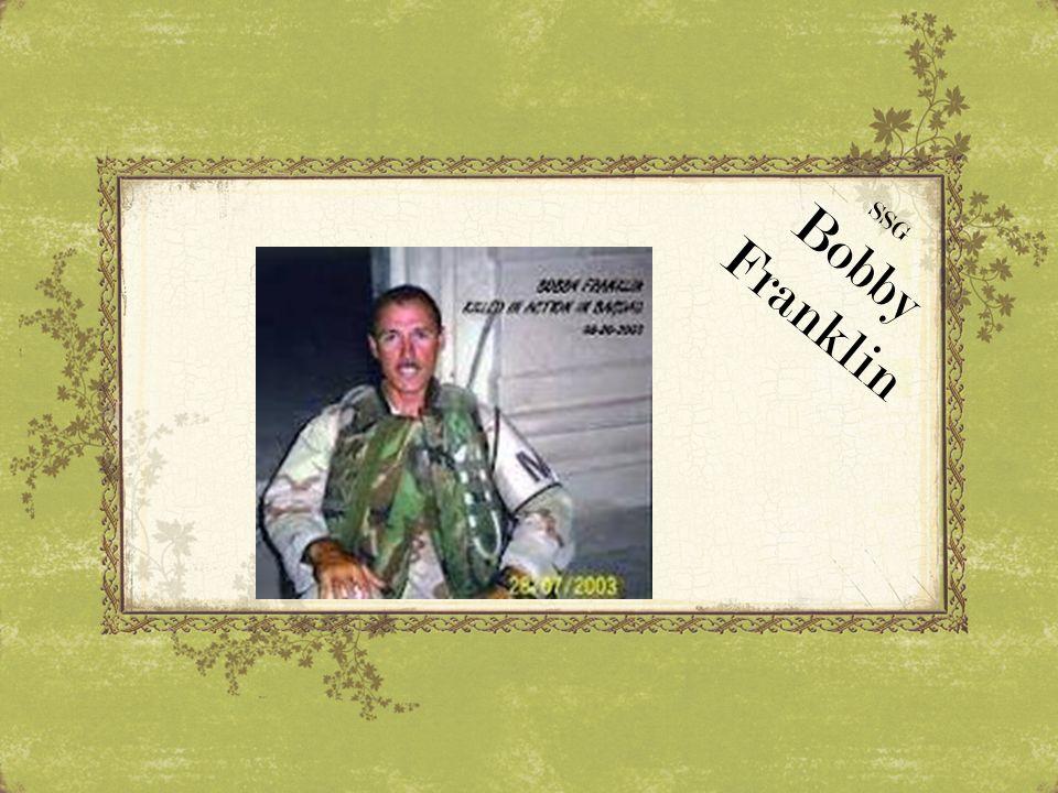 SSG Bobby Franklin