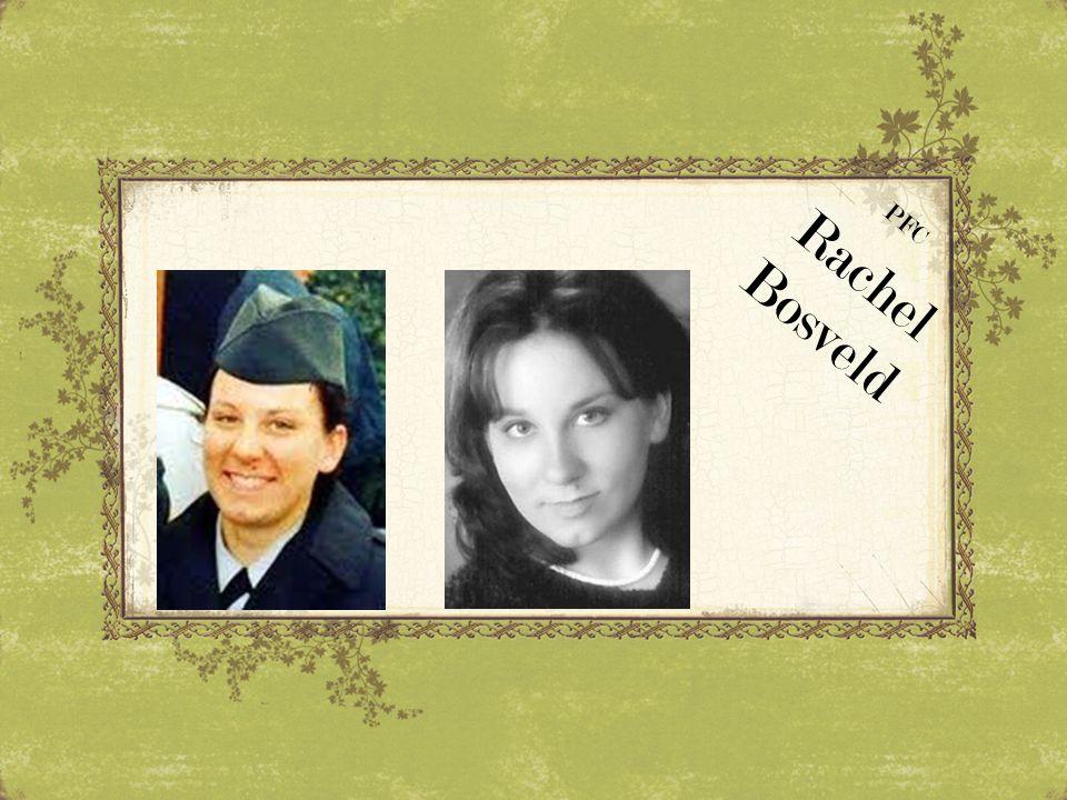 PFC Rachel Bosveld
