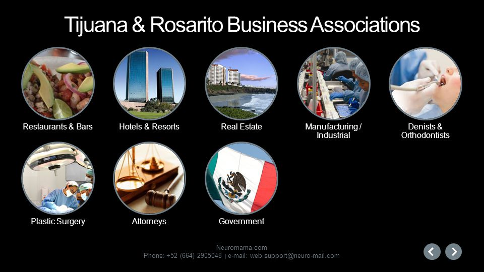 Tijuana & Rosarito Business Associations