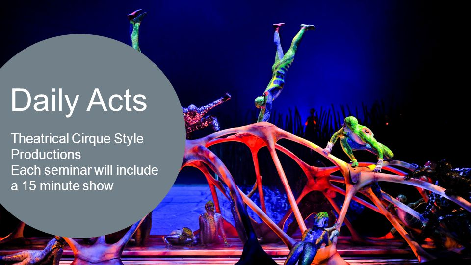 Daily Acts  Theatrical Cirque Style Productions