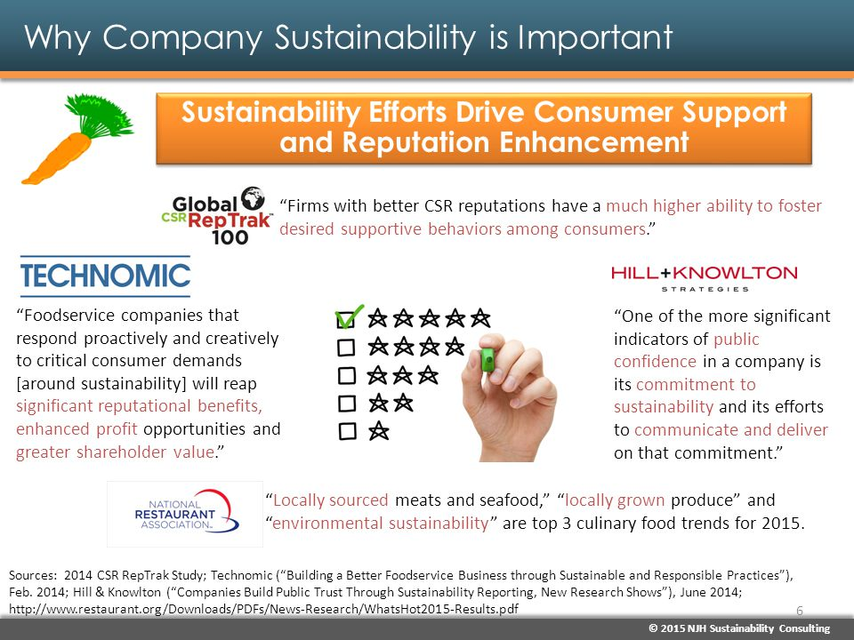 Why Company Sustainability is Important