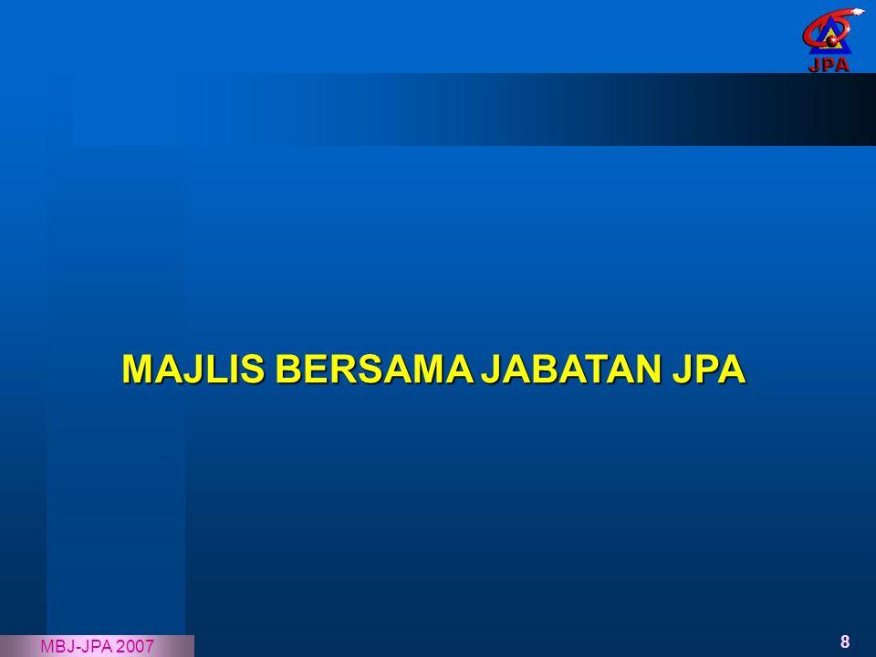 MAJLIS BERSAMA JABATAN JPA