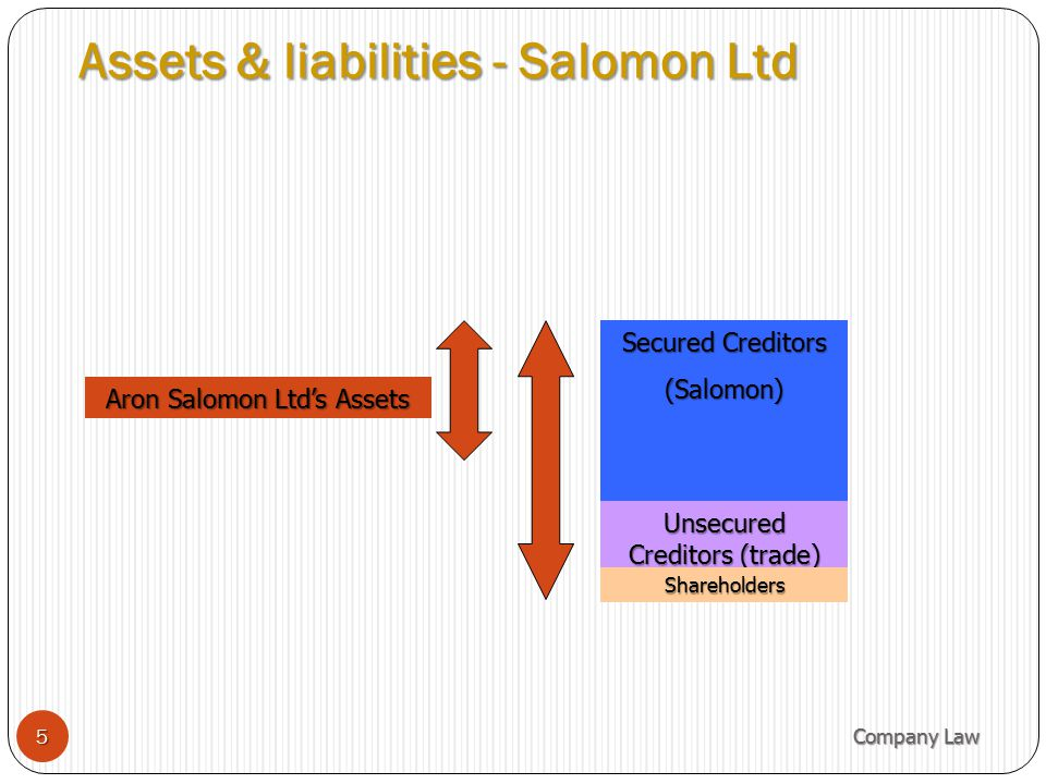 Assets & liabilities - Salomon Ltd