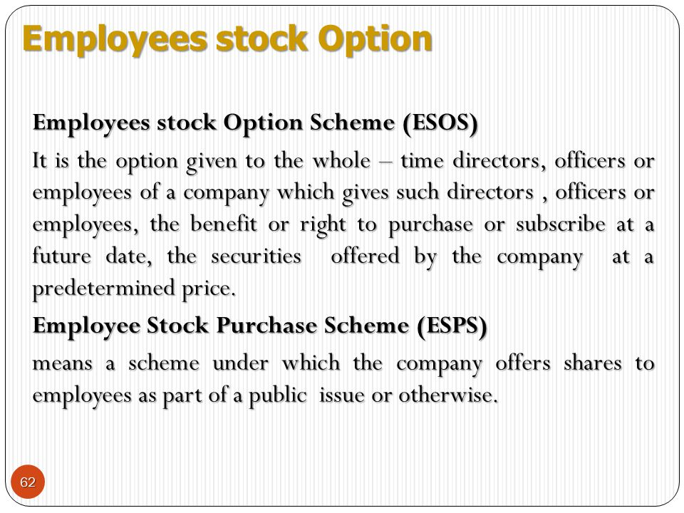 Issuing stock options to non-employees