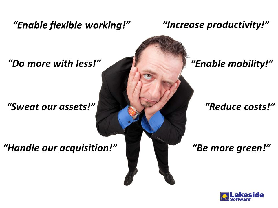 Enable flexible working!