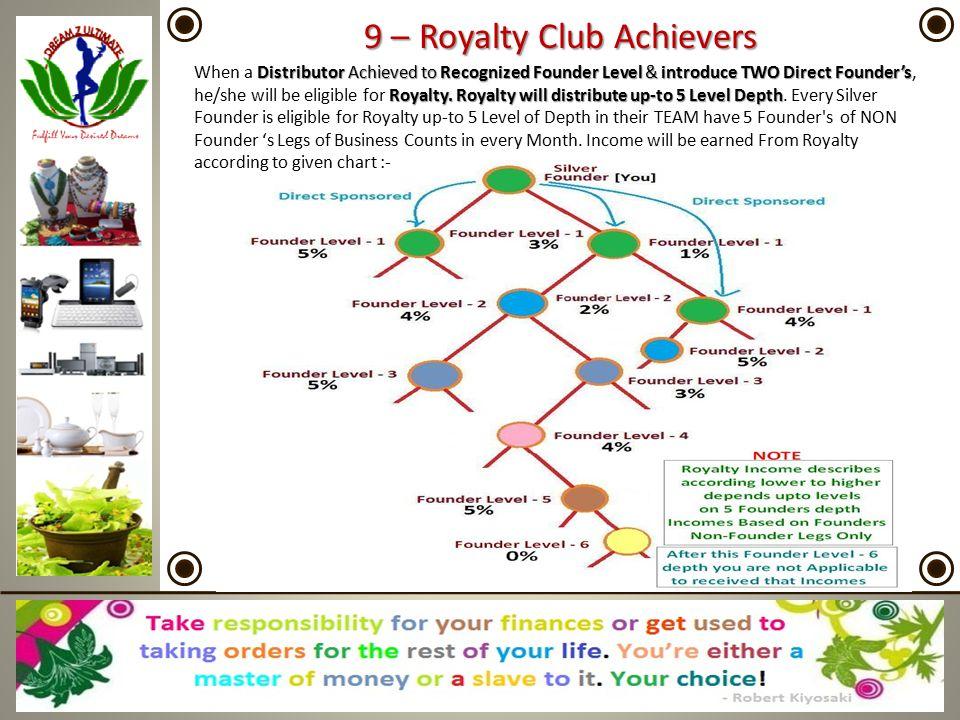 9 – Royalty Club Achievers
