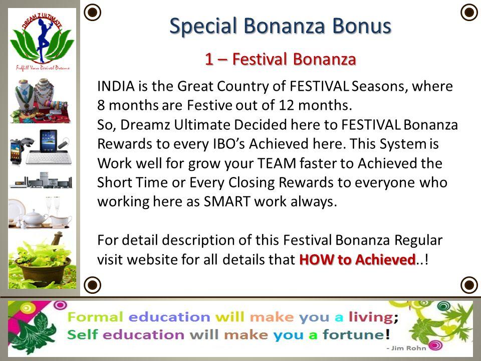 Special Bonanza Bonus 1 – Festival Bonanza