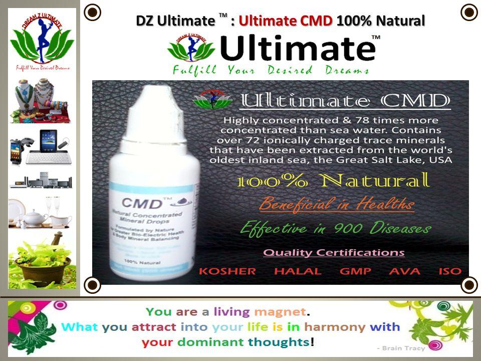 DZ Ultimate TM : Ultimate CMD 100% Natural