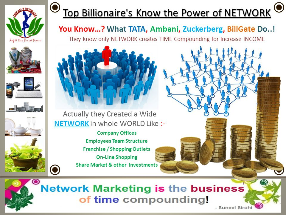 Top Billionaire s Know the Power of NETWORK