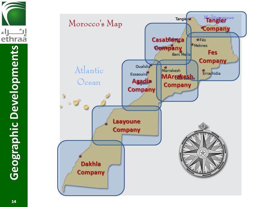 Geographic Developments