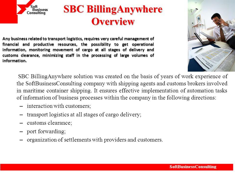 SBC BillingAnywhere Overview