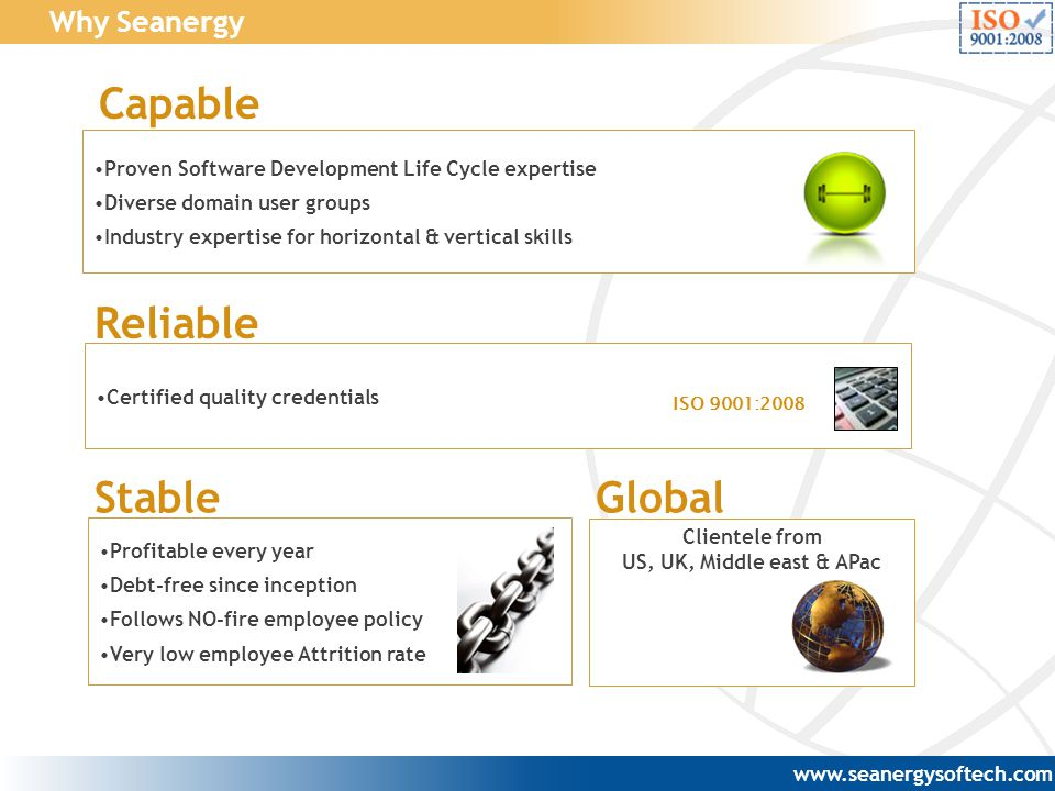 Capable Reliable Stable Global Why Seanergy