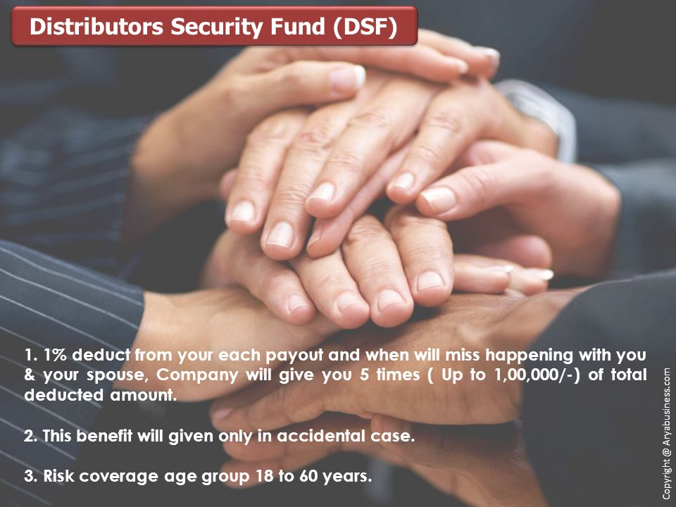 Distributors Security Fund (DSF)