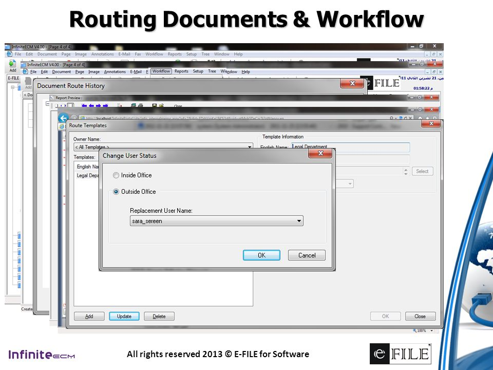 Routing Documents & Workflow