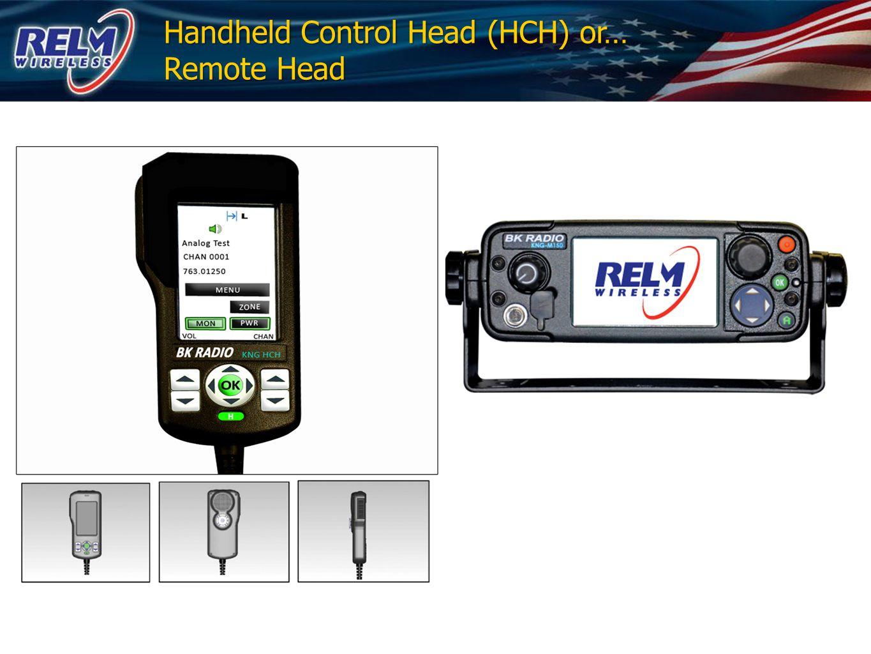 Handheld Control Head (HCH) or…