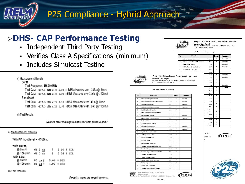 P25 Compliance - Hybrid Approach