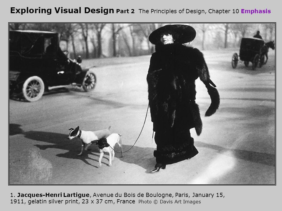 Exploring Visual Design Part 2 The Principles of Design, Chapter 10 Emphasis