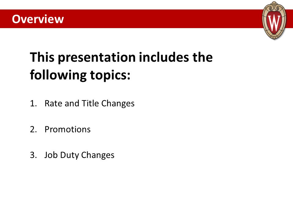 academic staff rate title change requests annual promotion  this presentation includes the following topics